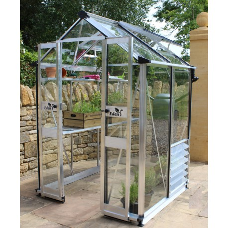 gew chshaus 1 95m aus sicherheitsglas birdlip eden greenhouses. Black Bedroom Furniture Sets. Home Design Ideas