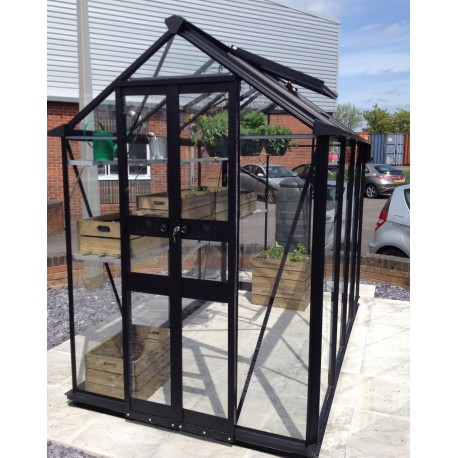 gew chshaus 1 95m sicherheitsglas birdlip schwarz eden greenhouses. Black Bedroom Furniture Sets. Home Design Ideas