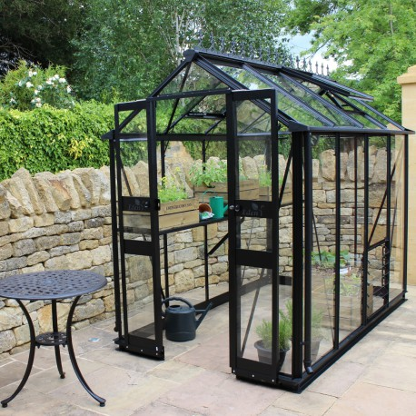 gew chshaus 3 78m aus sicherheitsglas birdlip schwarz eden greenhouses. Black Bedroom Furniture Sets. Home Design Ideas